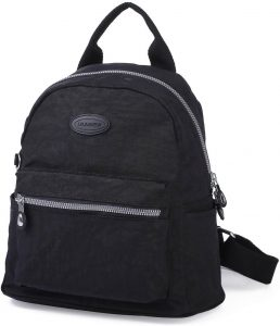 nylon mini backpack purse