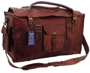 best leather duffel bags for travel