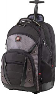 wenger luggage synergy wheeled 16 backpack laptop bag