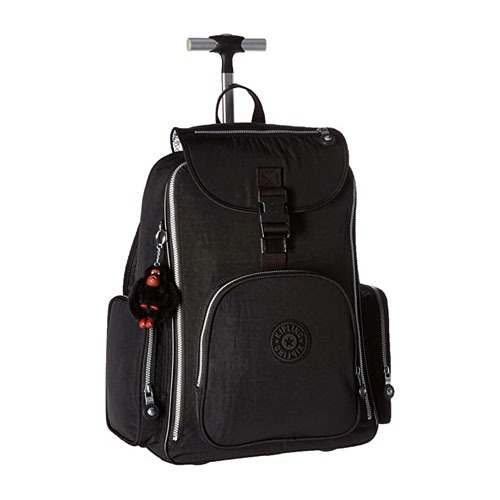 Kipling Luggage Alcatraz Solid Laptop Wheeled Backpack